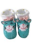Joobles Organic Baby Booties - Kitty Katz (0-6 Months)