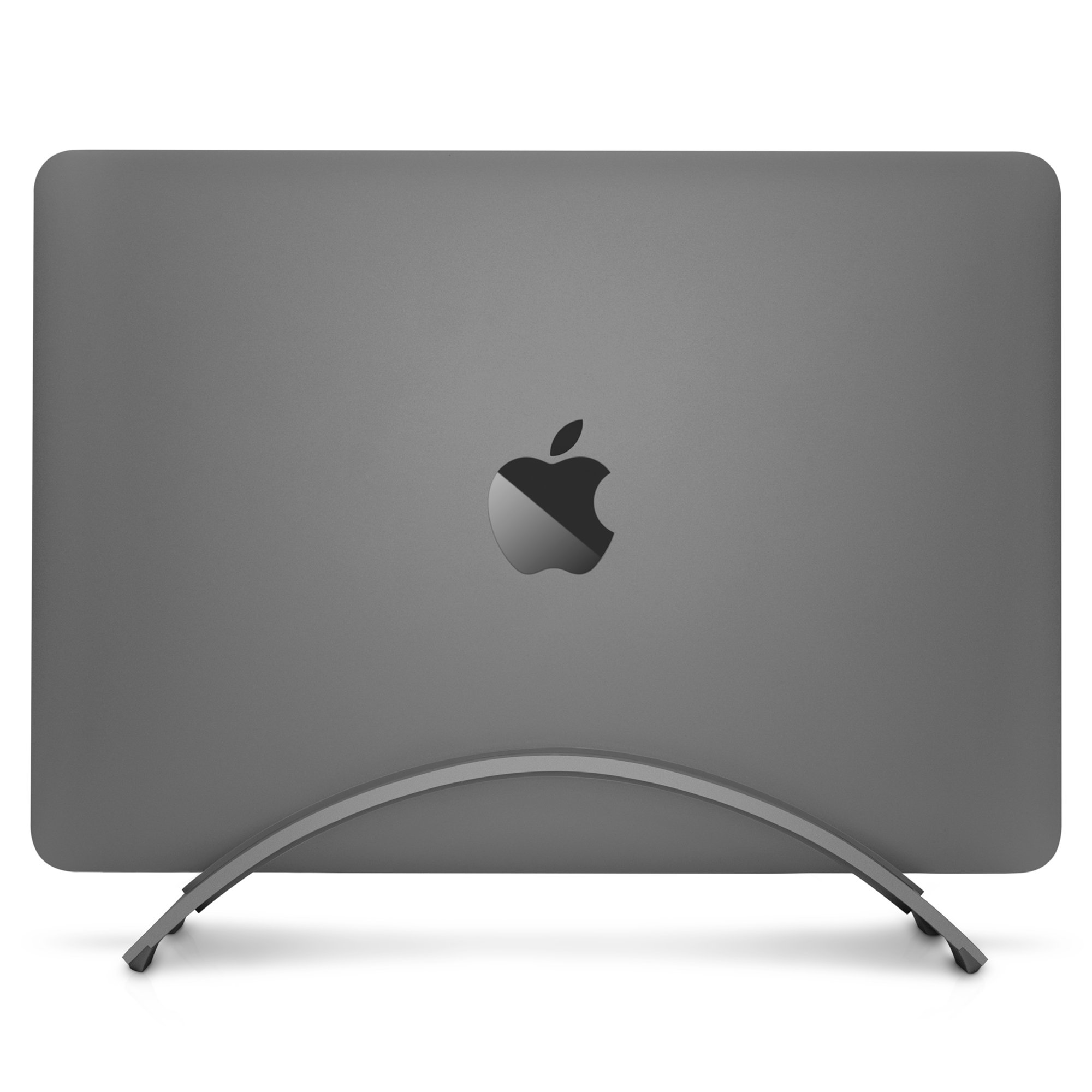 Twelve South BookArc for MacBook, Space Grey   Space-Saving Vertical Desktop Stand for Apple notebooks