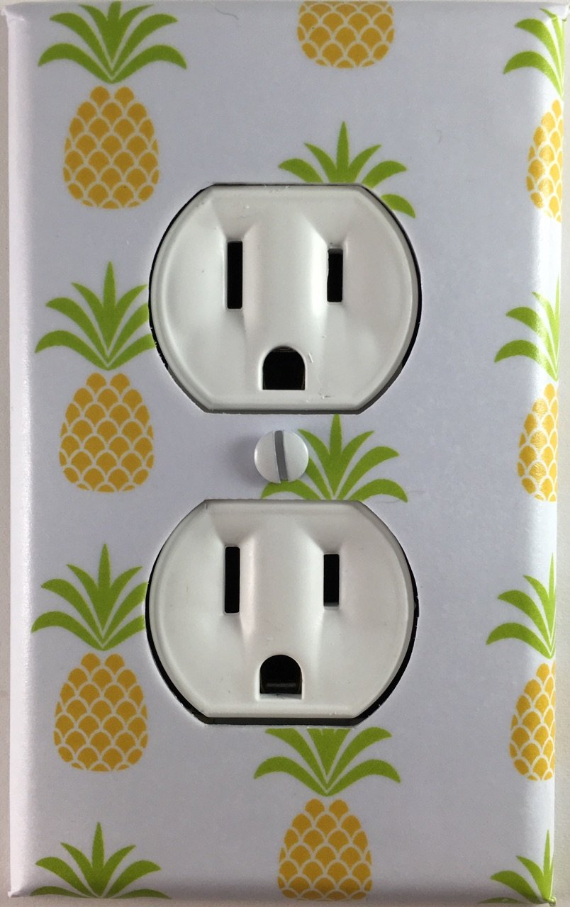 Amazon Com Pineapple Fruit Decorative Outlet Wall Plate Handmade
