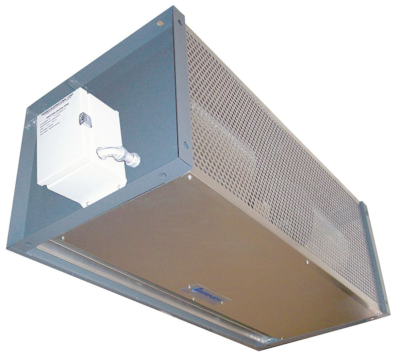Berner - IDC12-2078AXY-G - High Velocity Air Curtain, 6 ft. 6 Max. Door Width, 10 ft. Max. Mount Ht., 63 dBA @ 10 Feet, 4000 f