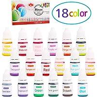 Wtrcsv 18er Jabón Colores–Jabón Fabricación Bomba de Baño