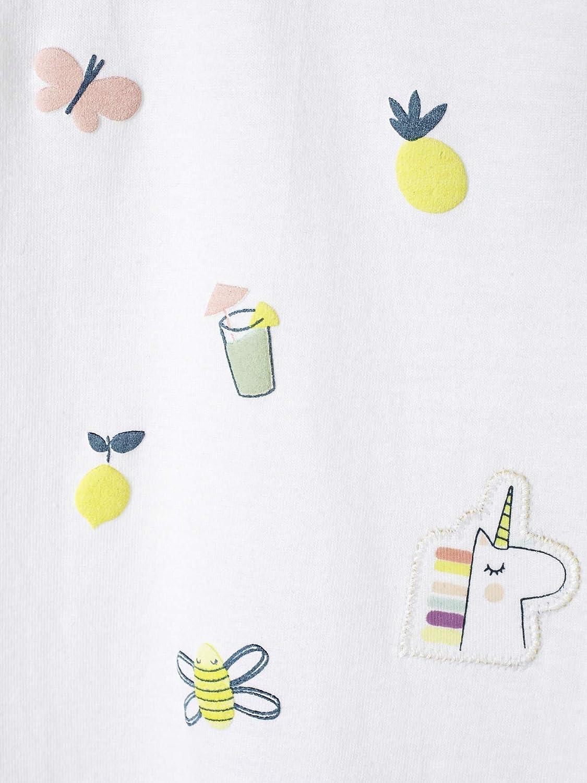 Vertbaudet Baby M/ädchen T-Shirt Relief-Print