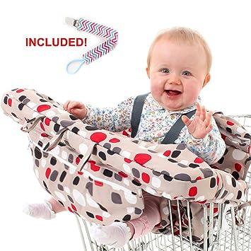 Amazon.com: Carrito de la compra Tapa y Trona Tapa para bebé ...