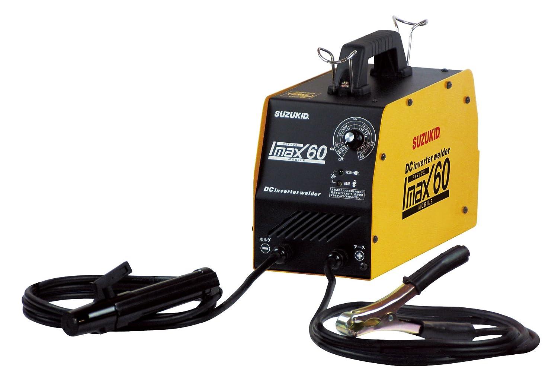 Amazon | スズキッド(SUZUKID) 100V専用直流インバータ溶接機 アイマックス60 SIM-60 | 電気溶接機