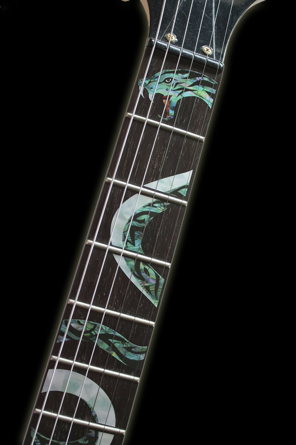 Fretboard Markers Inlay Sticker Decals for Guitar - Twisted Snake by Inlaystickers (Image #2)