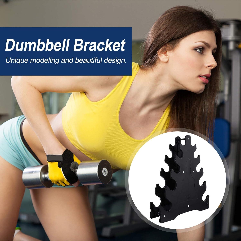 BESPORTBLE Dumbbell Rack Dumbell Weight Rack Dumbbell Holder Hand Weight Tower Dumbbell Stand Bracket Dumbbell Holder for Gym
