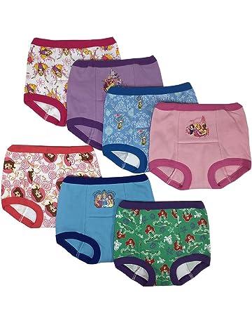 9ff1b3cd8ad3 Disney Girls' Toddler Princess 7 Pack Training Pants