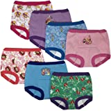 Disney Girls GTP7119 Princess 7 Pack Training Pants Training Underwear - Multi