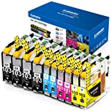 Galada Compatible Ink Cartridges Replacement for Brother LC103 LC103XL LC101 LC101XL Ink Cartridges for MFC-J870DW J470DW J47