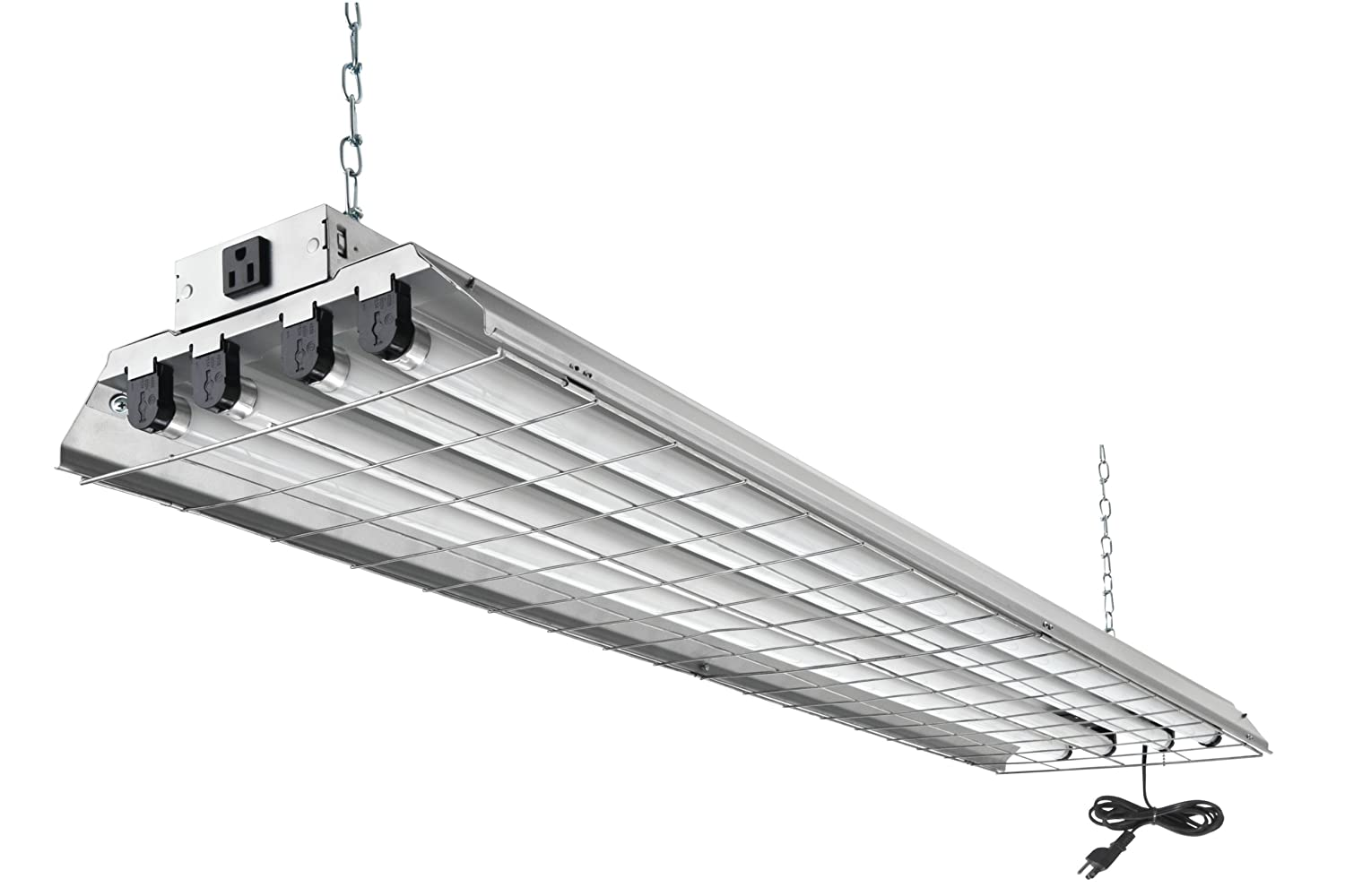Lithonia Lighting 1284GRD RE 4-Light Heavy Duty Shoplight - Ceiling Pendant Fixtures - Amazon.com  sc 1 st  Amazon.com : flourecent lighting - www.canuckmediamonitor.org