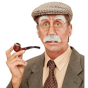 Augenbrauen Schnurrbart Opa Set Bad Taste Party Schnauzer