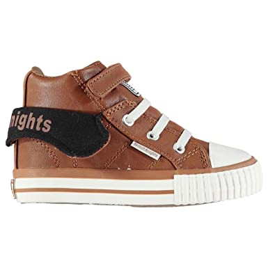 b6d640071 British Knights Roco Trainers Infants Chestnut/Black Sneakers Shoes  Footwear (UKC6) (EU23) (USC7): Amazon.co.uk: Clothing