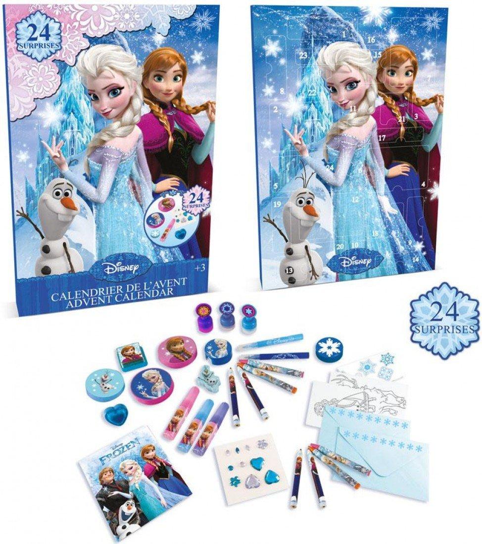 Disney La Reine des neiges Calendrier de l'Avent avec 24Surprise Cadeaux (Bleu) DARPEJE DARP-CFRO086