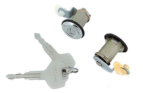 Well Auto Door Lock Cylinder Set Tumbler With Key L R 92 94 D21 95 97 Hardbody 91 95 Pathfinder