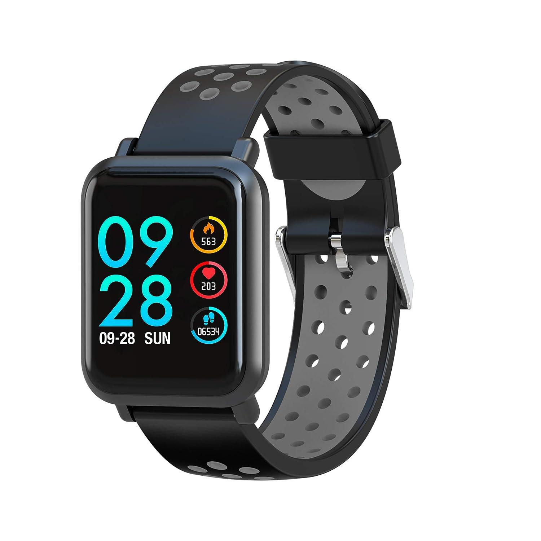 Leotec Reloj Inteligente LESW14DKAMZ: Amazon.es: Relojes