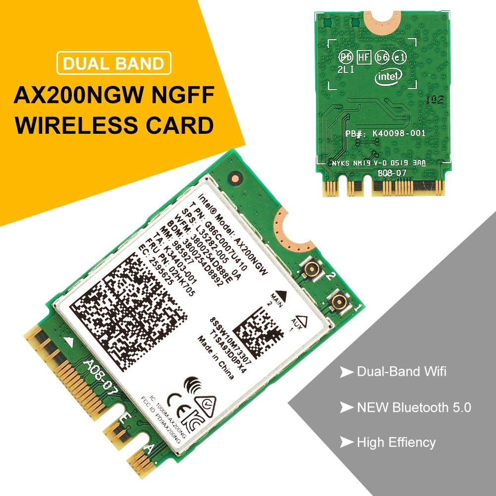 Beaviety Intel Wireless AX200NGW 2.4Gbps 802.11ax WiFi ...