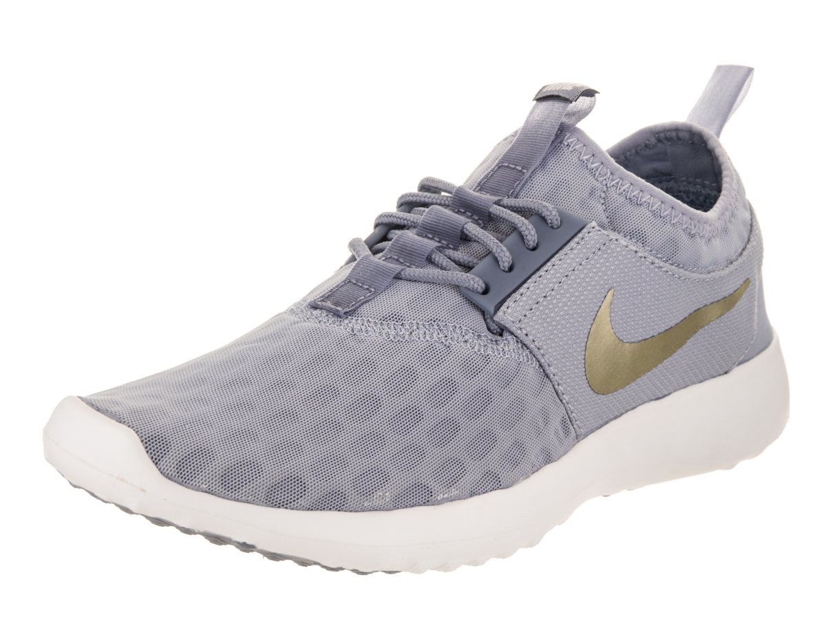 NIKE Women's Juvenate Running Shoe B074TJV9XZ 12 B(M) US|Glacier Grey/Metallic Gold Star