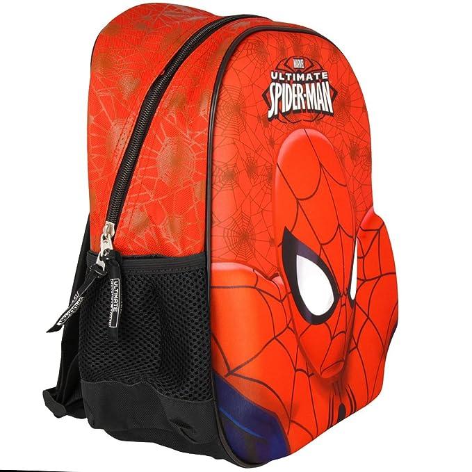 SAMBRO 12.5-inch Ultimate Spiderman Deluxe 3d mochila: Amazon.es: Juguetes y juegos