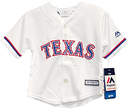 Majestic Athletic Texas Rangers Home Cool Base Infant Jerseys (12 Months) 6f5241d02