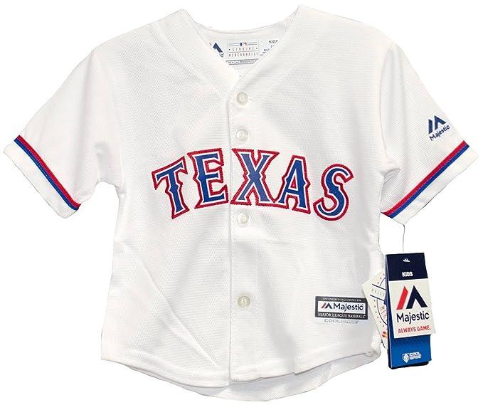 da10381a3 Amazon.com : Texas Rangers Home Cool Base Child MLB Jerseys (Small ...