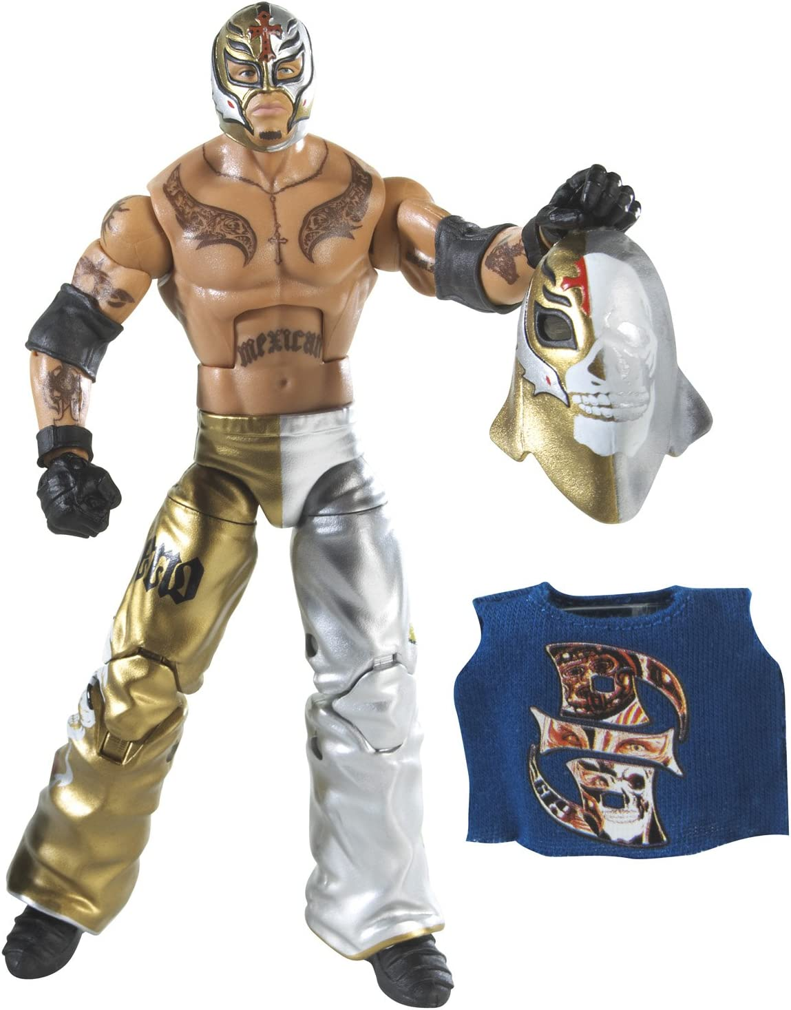WWE Rey Mysterio Elite Collection Series 69 Action Figure
