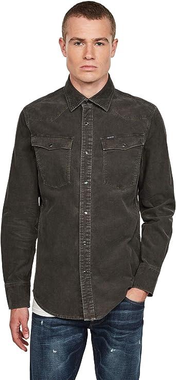 G-STAR RAW 3301 Slim Camisa para Hombre: Amazon.es: Ropa y accesorios