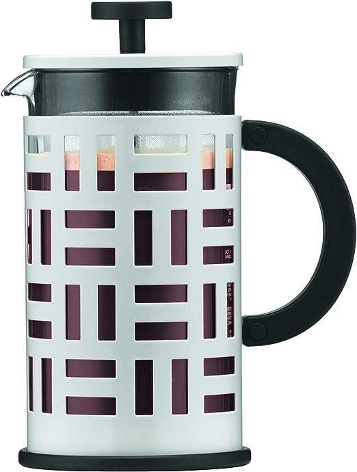 Bodum 11195-913 Cafetera émbolo, 1 Liter, Blanco crema: Amazon.es ...
