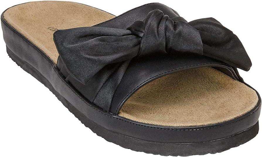 Wide Width The Stassi Footbed Sandal