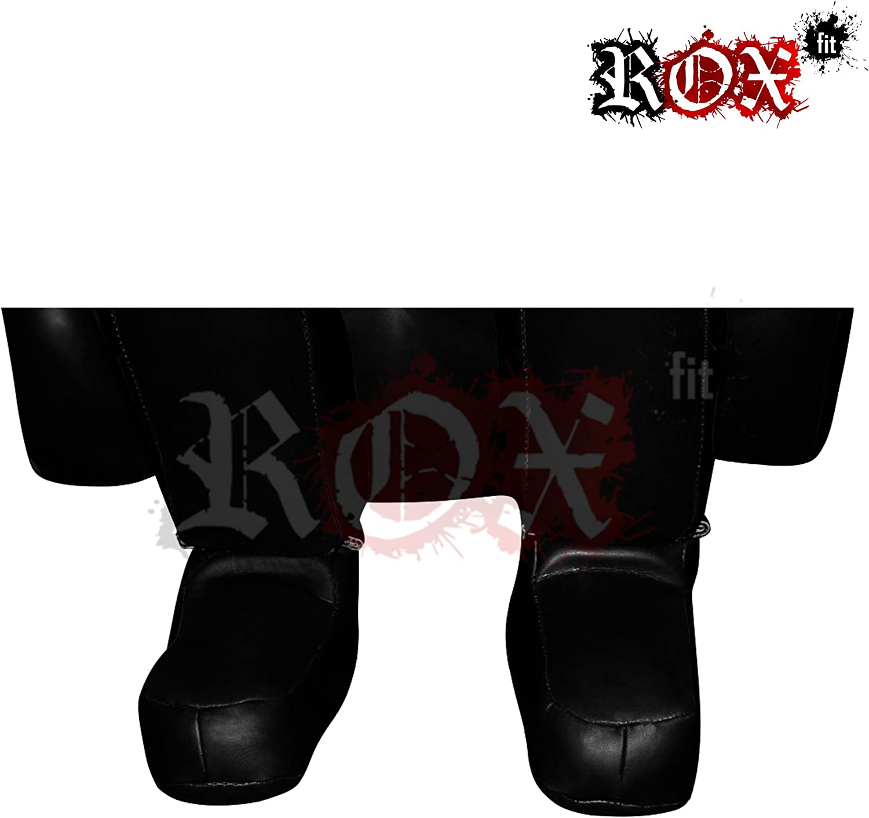 Grappling Dummy Rox Fit Soumission Style double face de Poin/çonnage Kicking Dummy BJJ Training Sac 1,5/x 1,8/m Noir vide