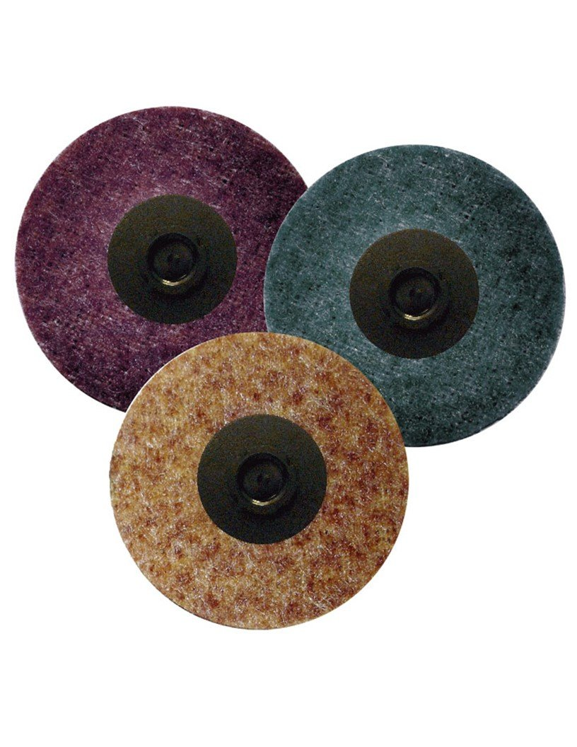 Griton QS2305 3'' Surface Conditioning Disc, Industrial Grade Type 2, Medium, Maroon (Pack of 25)