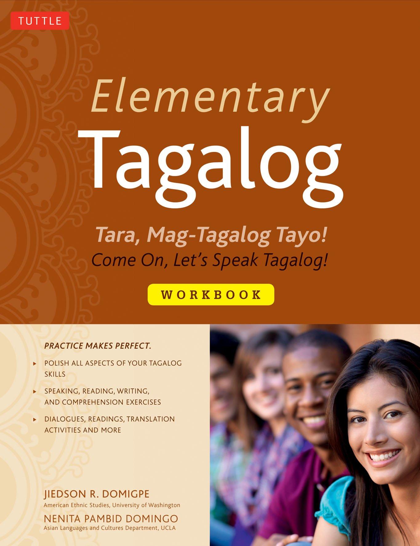Amazon com: Elementary Tagalog Workbook: Tara, Mag-Tagalog