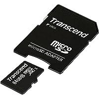Transcend TS64GUSDXC10 Extreme-Speed Micro SDXC 64GB Class 10 Speicherkarte mit SD-Adapter