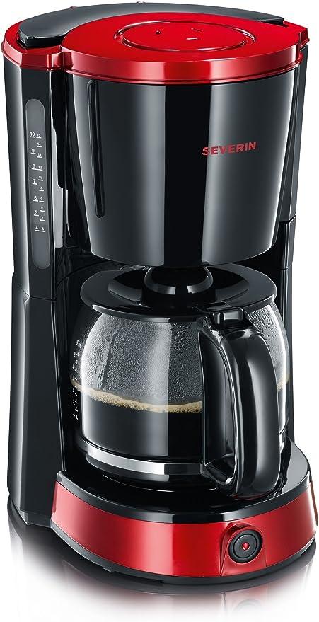 SEVERIN KA 4492 Cafetera Selectpara filtros de Café Molido, 10 ...