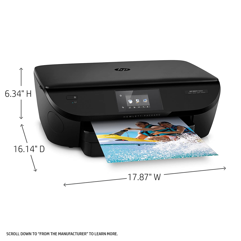 HP ENVY 5660 e-All-in-One Printer - Impresora multifunción ...