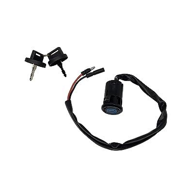 SHUmandala 2 Wires Ignition Key Switch for HONDA TRX90 SPORTRAX 2002-2005/TRX300EX SPORTRAX 300 1993-2006 35010-HM3-000 ATV: Automotive