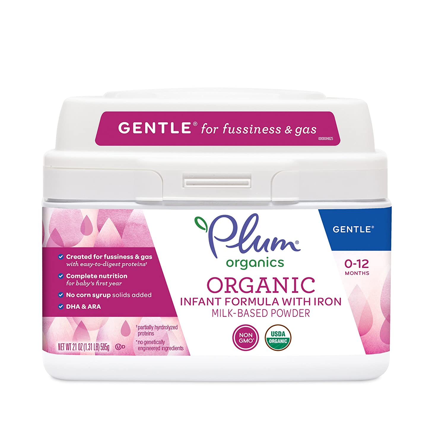 Plum Organics, Organic Infant Formula with Iron, 21 ounce (Packaging May Vary) Nest Collective 2 200460001008