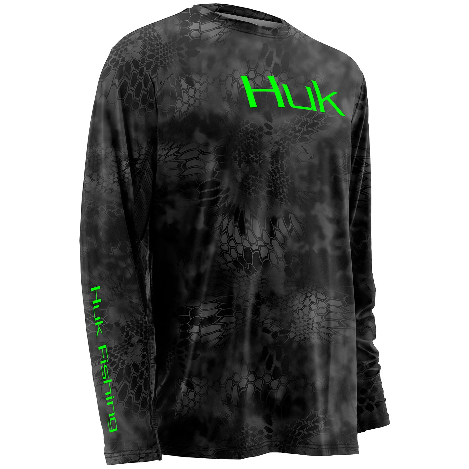 HUK Youth Kryptek Icon Long Sleeve Shirt