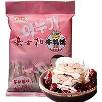 嘉士柏台湾风味软牛轧糖-蔓越莓口味 500g