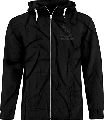 BSW Boys Never Argue with A 90 Degree Angle Always Right Zip Hoodie MED Black