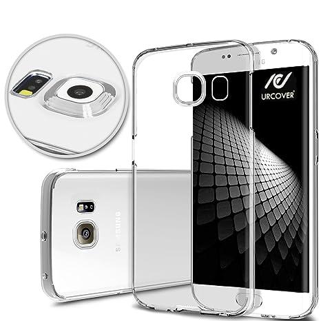 URCOVER® Funda Protectora en Silicona Ultra-delgada | Samsung Galaxy S6 Edge Plus | TPU PROTECTOR DE CÁMARA in Transparente | Carcasa Estuche Case ...
