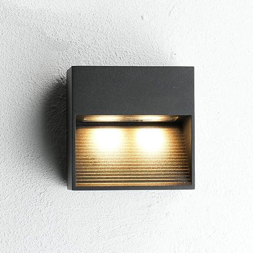 Lámpara exterior de pared LED