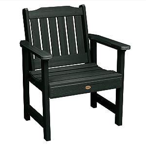 Highwood AD-CHGL1-CHE Lehigh Garden Chair, Charleston Green
