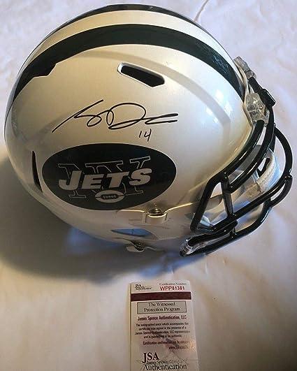 Sam Darnold Autographed Signed Full Size New York Jets Speed Helmet JSA  Witnessed Coa 2e98a186c