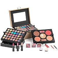 DUER LIKA Mixed Beauty Makeup Kit Cosmetic Case Set Eyeshadow Palette Blushes Lip 20