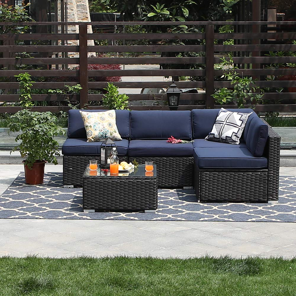 Homall 5-Pieces Outdoor Patio Furniture Sets