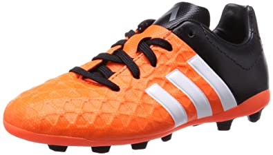 detailed look ab558 91b1d adidas Performance ACE15.4 FxG, Chaussures de Football garçon, (Solar  Orange