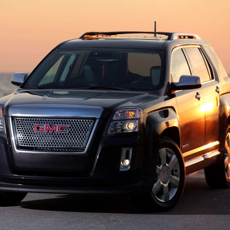 Will fit Any Chevrolet Silverado Chevrolet Colorado GMC Sierra or Denali The Antenna for Chevy /& GMC Trucks All Models Black