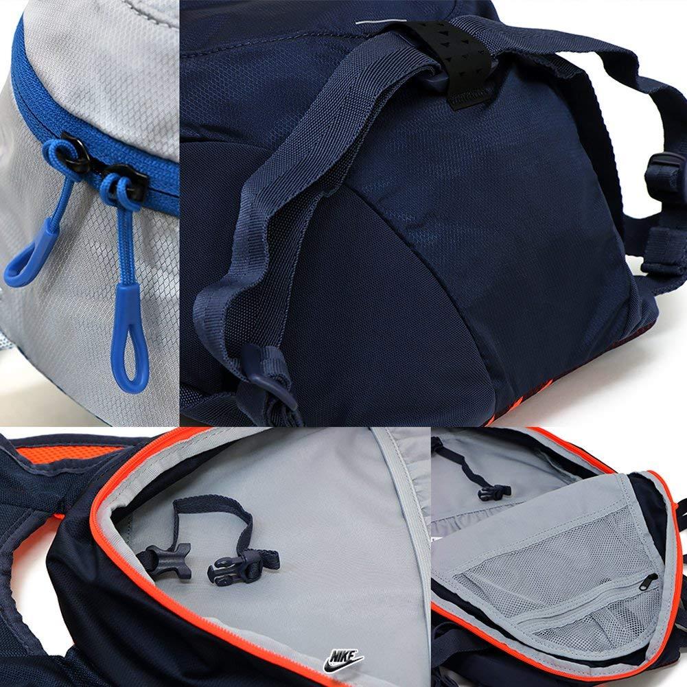 Nike Commuter Running Backpack NRI01-044 Wolf Grey//Blue Jay//Silve
