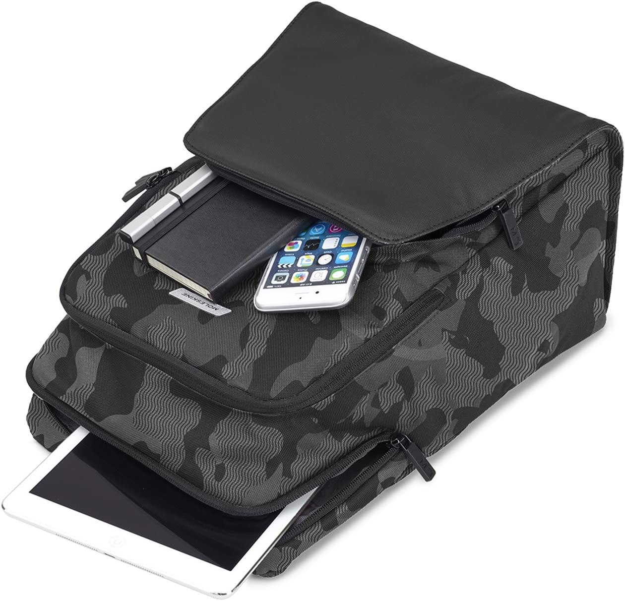 Moleskine City Travel Backpack Medium Camo Black