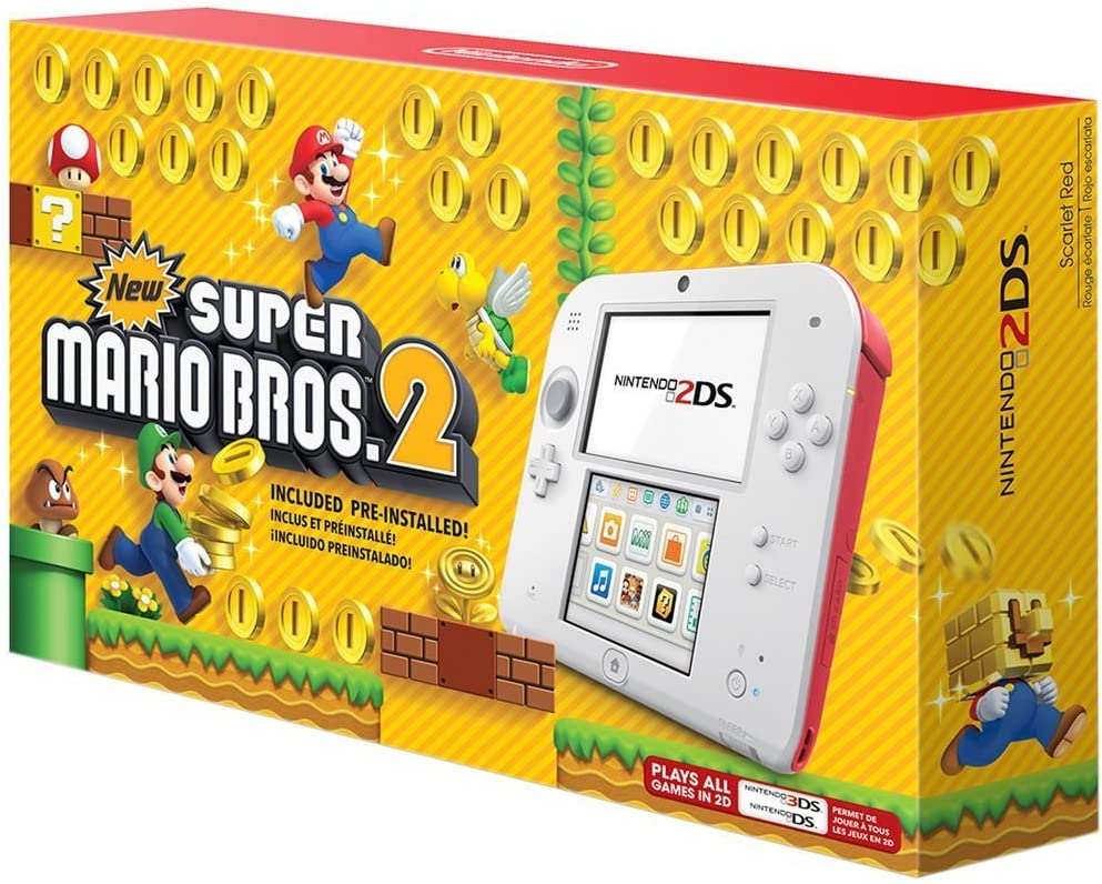 Amazon.com: Nintendo 2DS - New Super Mario Bros. 2 Edition ...